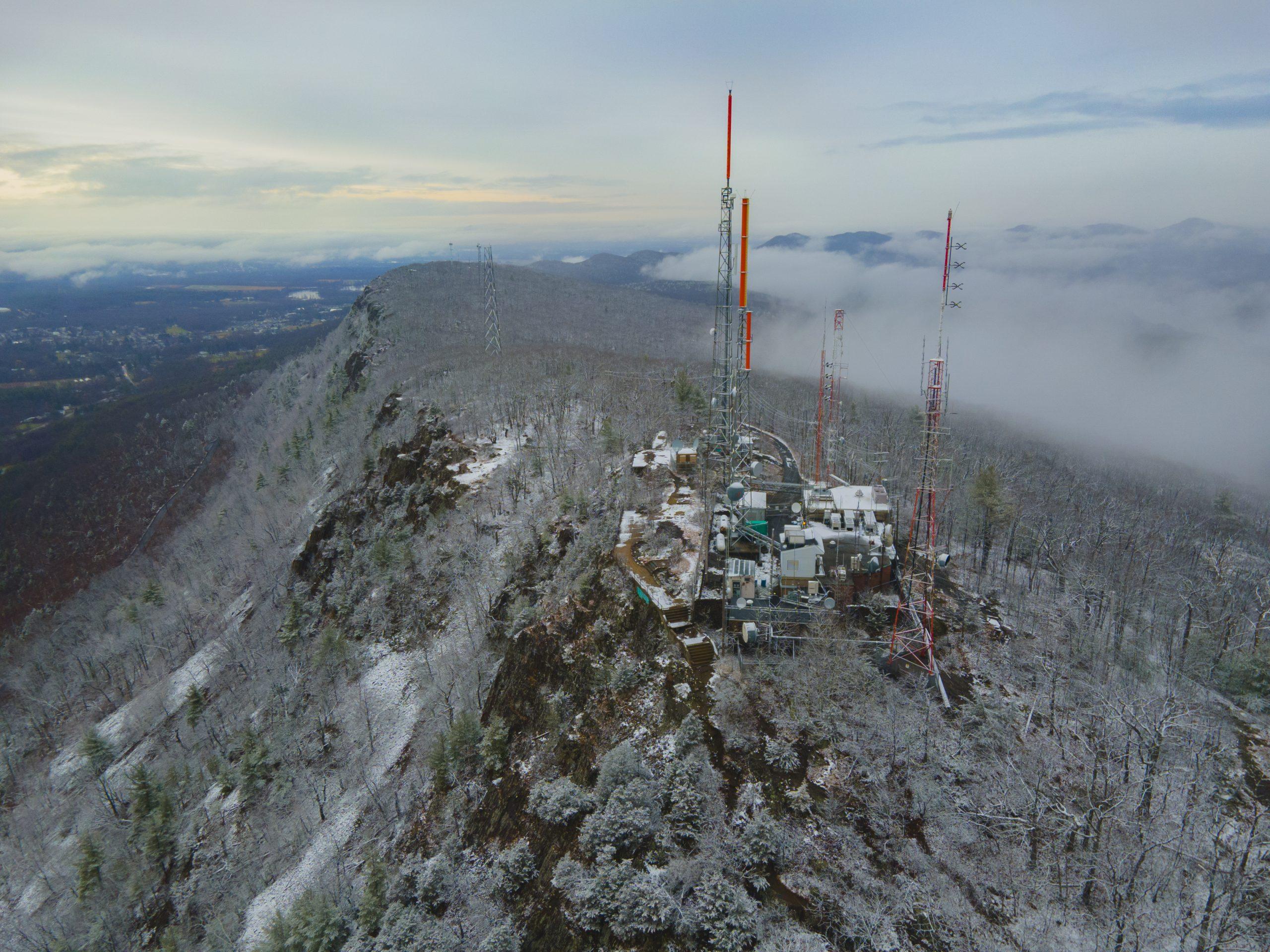 Snowy Mountain Radio Towers